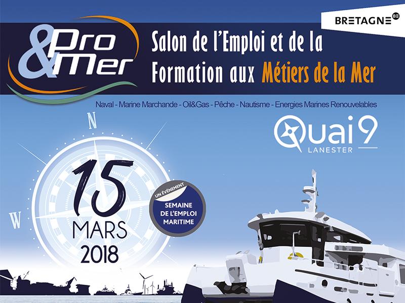Favoriser le développement du secteur naval en Bretagne Sud à Pro&Mer