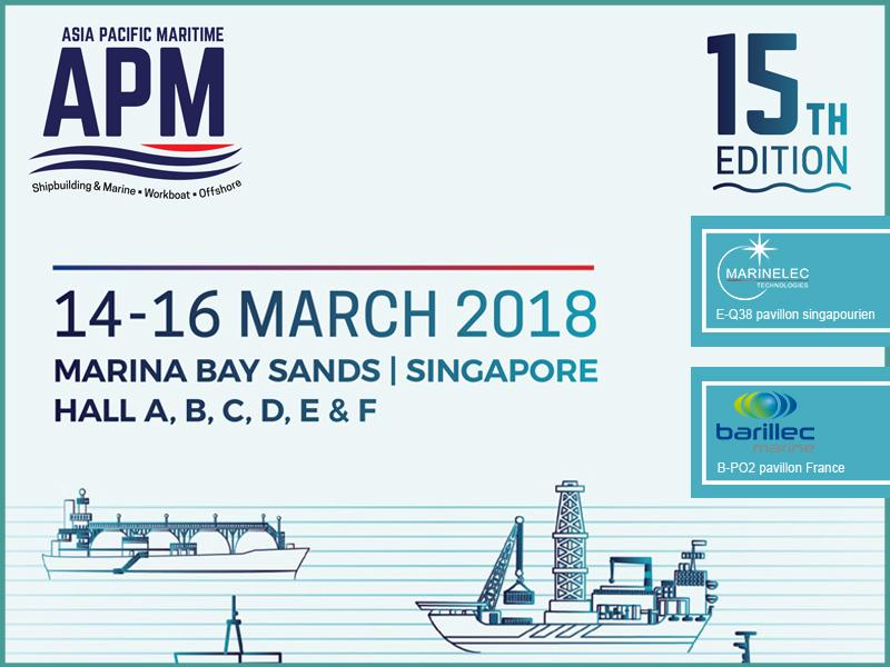 Les entreprises de l'IPC au salon APM à Singapour