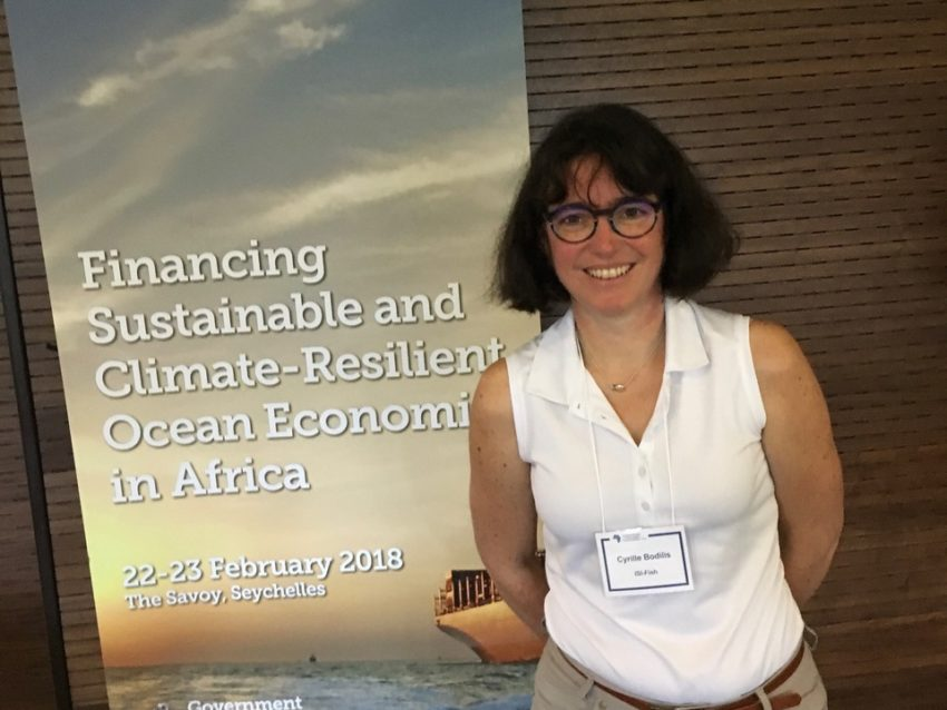 ISI FISH À LA CONFÉRENCE Financing Sustainable and Climate-Resilient Ocean Economies in Africa