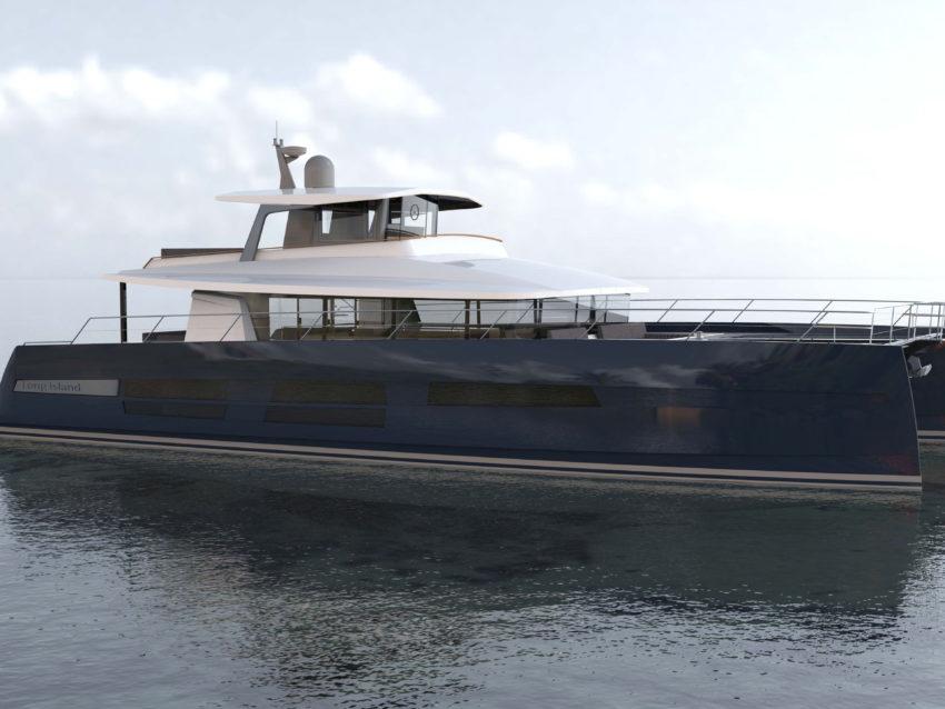 Un catamaran à moteur signé JFA Yachts !