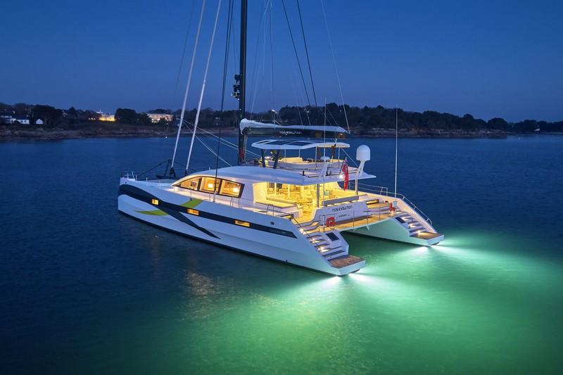 Le nouveau Long Island 85' de JFA Yachts, s'appelle NDS EVOLUTION