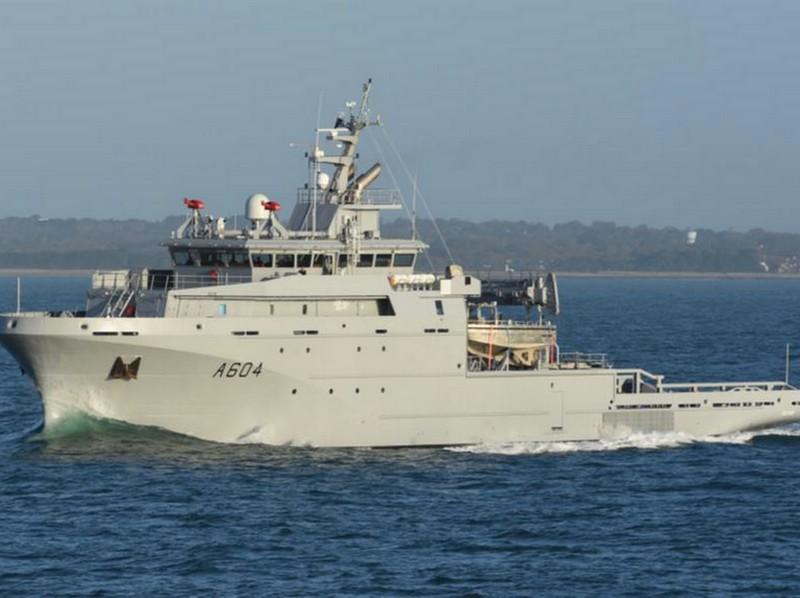 Piriou - BSAM SEIN - ex BSAH - IPC Concarneau Naval