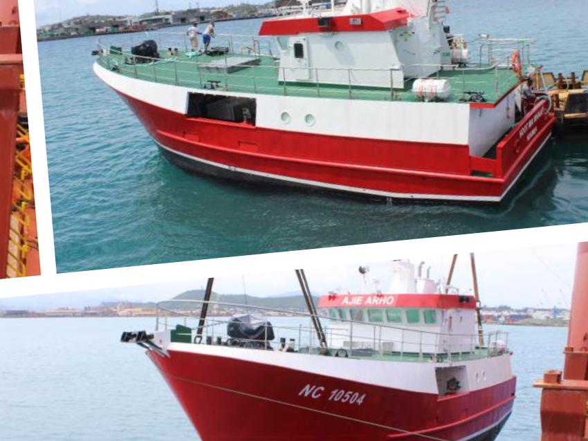 PIRIOU livre à NAVIMON trois nouveaux palangriers pour le renouvellement complet de sa flotte